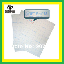 A4,JET Pro (R)ss light color heat transfer paper,T-shirts transfer paper,can be cutting paper,inkjet transfer paper
