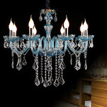 Decoration Candle Crystal Chandelier Luxurious Lighting Fixture For Living Room Hotel Wedding Decor Hanging French style lamp
