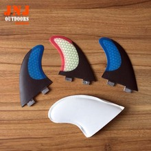 Free shipping FCS M7/ G7 surfboard carbon fin