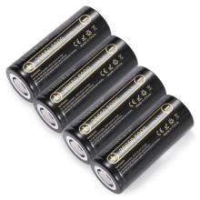 4pcs HK LiitoKala lii-50A 26650 5000mah lithium battery 3.7V 5000mAh 26650 rechargeable battery suitable for flashligh NEW(China)