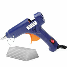 20W Mini High Power Electric Fast Heat Temperature Hot Melt Glue Gun DIY Professional Tool & Glue Sticks