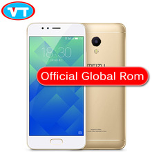 gold MEIZU M5S MTK6753 Cell Phone 5.2 inch octa-core mobile phone Fast Charging metal body5.0+ 13.0 camear(China)