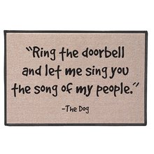 Ring The Doorbell And Let Me Sing The Song Of My People -The Dog(China)