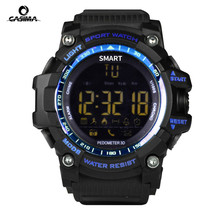 New sports smart watch buzzer alarm sports monitor IP67 waterproof sports watch top brand luxury digital watch Reloj Hombre
