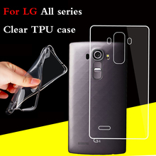 NEW Crystal Case For LG G2 G3 G4 G5 K8 K10 V10 V20 Nexus 5 5X X Screen Power Stlye All series Soft Clear TPU Silicon Cover Case