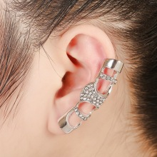 2017 Manufacturers selling punk rock ear clip new hollow  ear clip ear Yiwu fashion jewelry  ear cuff pendientes earring