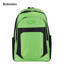 Bokinslon Girls Backpacks Bags Oxford Mixed Colors Boys Backpacks Fashion Practical Primary School Students Bags(China)