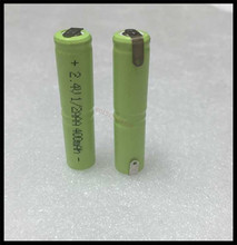 2 PCS/lot Original New KX 2.4V 1/2AAA 400mAh Ni-MH Rechargeable Battery 1/2 AAA Batteries Pins - Mickey Electronic store