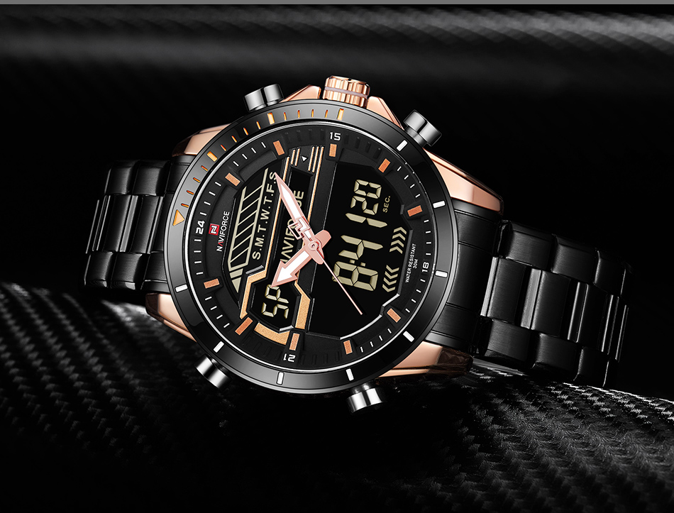 532b709fe Detail Feedback Questions about Top Luxury Brand NAVIFORCE Men Sport ...