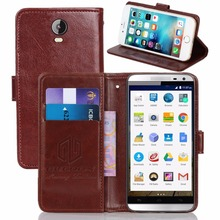 GUCOON Vintage Wallet Case for Micromax AQ5001 Canvas Power PU Leather Retro Flip Cover Magnetic Fashion Cases Kickstand Strap