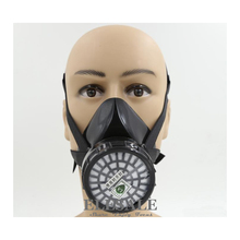 New Industrial Dust Gas Mask Respirator Chemical Gas Filter Half Face Mask For Painting Organic Vapours Work Safety