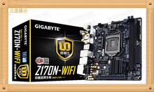 Free shipping  Gigabyte Z170N-WIFI 1151-pin connector Mini-ITX motherboards computer game