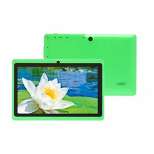 "7 inch android 4.4 cheap simple tablet pc wifi dual camera quad core 7"" tab pc battery tablets pc(China)"