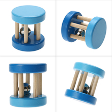 Funny Wooden Toy Baby Kid Children Intellectual Developmental Educational Toys Spiral Rattles Babies Brinquedos - winwinstep store