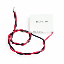 1pcs 100% New the cheapest price TEC1-12706 TEC Thermoelectric Cooler Peltier (TEC1 12706)(China)