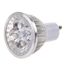 4W 85-265V GU10 Warm White LED Light Lamp Bulb Spotlight(China)