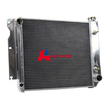 Automobile 4 ROW/CORE ALUMINUM RADIATOR FOR CHEVY ENGINE 87-06 JEEP TJ YJ Conversion 1987-2006 Auto Cooling Replacement Parts
