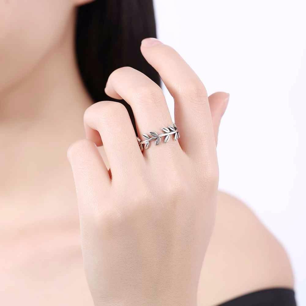خاتم فضة 5