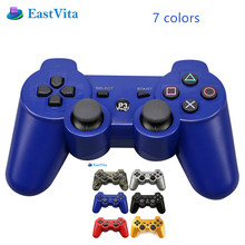 EastVita For PS3 Wireless Bluetooth Game Controller 2.4GHz 7 Colors For SIXAXIS Playstation 3 Control Joystick Gamepad r30(China)