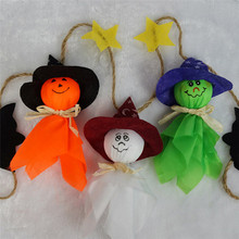 Halloween Ghosts Garland Halloween Bunting Decorations Ghosts Wall Hanging Home Decor Novelty Toys(China)