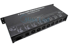 8 channels DMX signal distributor wireless control DMX128 for led strip lighting(China)
