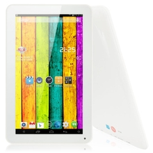 "Free shipping Origianl V11 cheap tablet pc 10 10.1"" 1024*600 A33 Duad Core Android4.4 8GB Tablet PC Bluetooth White(China)"