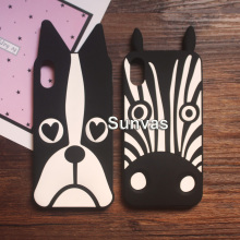 Buy New 3D Cute Cartoon Dog Zebra Soft Silicone Case Phone Back Cover Shell Skin Apple iPhone 8 8Plus iPhone X for $4.49 in AliExpress store