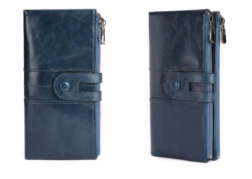 lady's wallet blue a