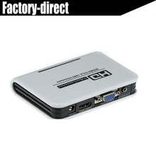 HDMI to VGA audio converter for PS4 Google Chrome Laptop DVD players  HDMI input and VGA output