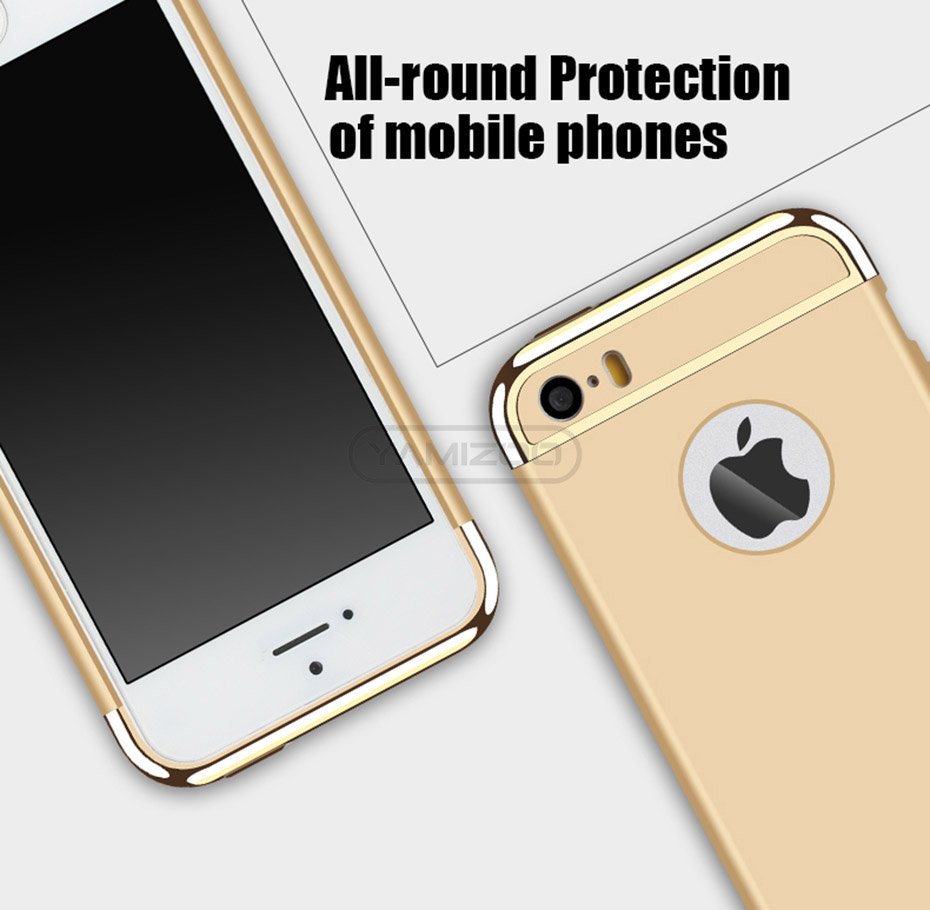 YAMIZOO 5s For iPhone se 5 Case 360 protection Phone Cases On Luxury Full Hard Plastic Coque Back Cover For iPhone 5s se 5 Case (2)