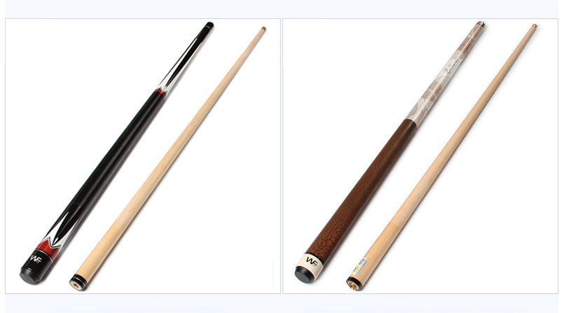 Pool Cues Billiard Maple Shaft 10.5mm//11.5mm//12.75mm Tips