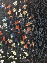 velvet embroidered tulle lace African French lace fabric very soft high quality 5 yards per piece