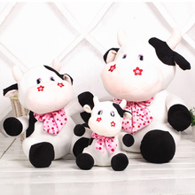 2016 New Environmental Protection Plush Baby Appease Toy Cow Export Wholesales Manufacturers Qulity Free shipping(China)