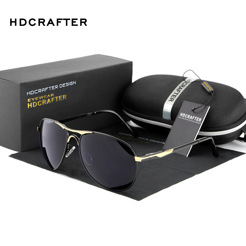 Wholesale 2017 Fashion Polarized men's Sun Glasses for sunglasses Men UV400 Brand Designer with High Quality(China (Mainland))