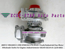 RHF55 VB440051 CIFK 8980302170 Turbo Turbocharger For ISUZU Truck Industrial Motor Industriemotor SH240 CH210-IS-5 For JCB 4HK1