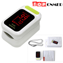 Reliable accuracy and durability Oximeter LED Display Pulse Oximeter Oximetro De Dedo Pulsioximetro Green Color(China)
