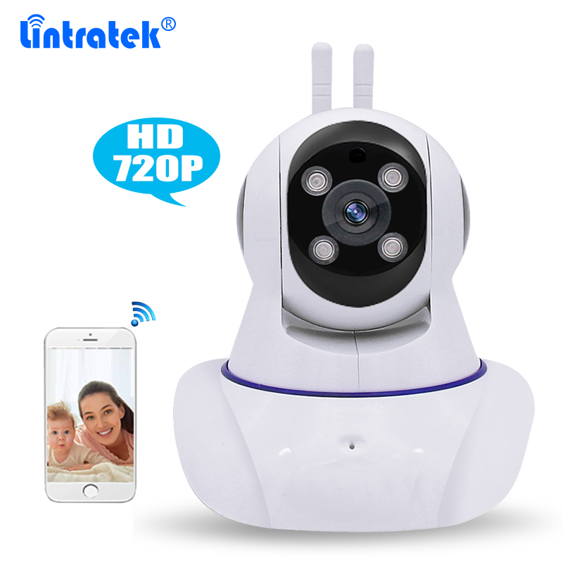 Wireless Surveillance HD 720P  WiFi IP Camera P2P Pan/Tilt/Zoom for Elder/Pet/Nanny/Baby Monitor with Night Vision 2-Way Audio<br>