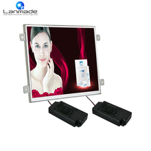 1024*600 10inch real 1080P retail store equipment lcd digital signage tv H.264 high definition media player for supermarkets