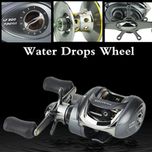 Stealth Super Light Carbon Body 210g 6.2:1 magnetic brake Baitcasting casting reel big game 9kg max drag saltwater Fishing reel