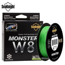 SeaKnight MONSTER 500M Braid Fishing Line 0.16-0.50mm Super Strong 8 Weaves Multifilament Wide Angle Technology Sea Fishing Line(China)