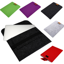 Centechia 11''/12''/13''/15'' Ultra Thin Laptop Felt Sleeve Case Cover Bag for Apple MacBook Tablet PC Protective Pouch