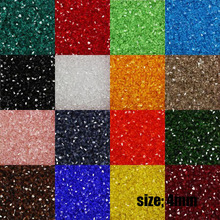 Choice 100pcs 4mm Bicone Austria Crystal Beads charm Glass Beads Loose Spacer Bead for DIY Jewelry Making SJ004(China)