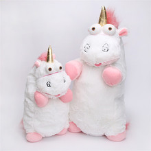 15cm40cm And 55cm Fluffy Unicorn Juguetes Brinquedos Soft Cotton Stuffed Plush Toy Pillow Gift Animal Toy For Kids