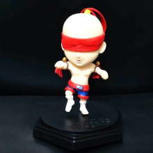 "Hit Online Game LOL Collection Action Figure LEE SIN 5"" LOOSE Red Q Kids Toy Collectible Gift(China)"