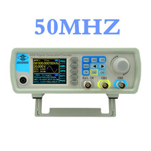 JDS6600 series DDS sine generator Digital Dual-channel Control frequency meter signal generator 50MHZ   44%OFF