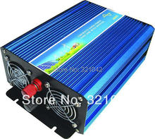 600W Off Grid Inverter, 12V/24V DC to AC 110V/220V Surge Power 1200W Pure Sine Wave Inverter for Solar or Wind Power System