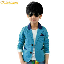 Kindstraum 2017 new children's polka dot print spring casual suits autumn jackets & blazers for boys wedding clothing, C252