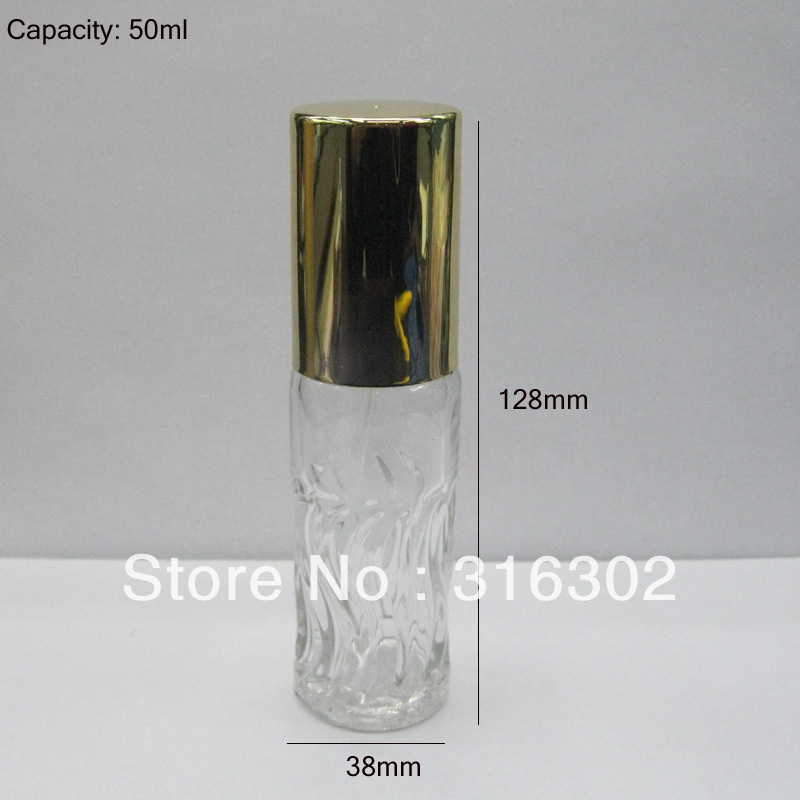 50ml glass Perfume sprayer bottle, 50cc fragrance and perfume cosmetic packaging<br><br>Aliexpress