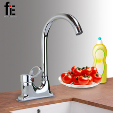 fiE Basin Faucet Vessel Sink 360 Degree Rotating Two Holes Mixer Tap Hot And Cold Water Faucet(China)