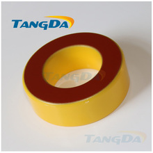 Tangda Iron powder cores T90-8 OD*ID*HT 23*14*10 mm 30nH/N2 35uo Iron dust core Ferrite Toroid Core toroidal yellow red